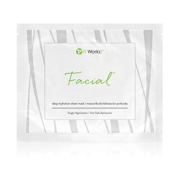 It Works! Facial™ Deep Hydration Sheet Mask