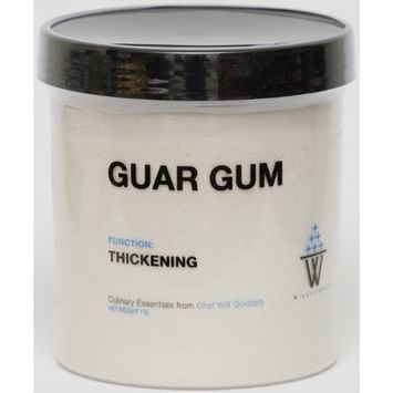 WillPowder GUAR GUM, Thickening Agent, Molecular Gastronomy and Modernist Cuisine, 1 LB by weight