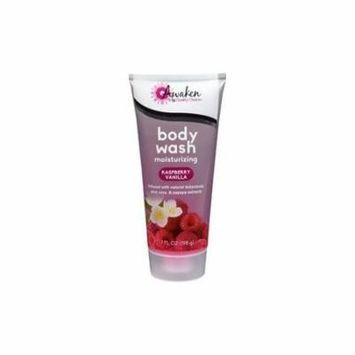 4 Pack Awaken By Quality Choice Raspberry Vanilla Body Wash 7 Ounces each