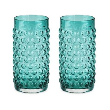 Drinking Glass, Country Cottage Hobnail Glassware Clear Drink Glass