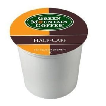 Green Mountain Coffee Half-Caff for Keurig Brewers 24 K-Cups (2 Pack)