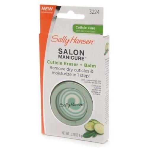 Sally Hansen Salon Manicure Cuticle Eraser + Balm by Sally Hansen