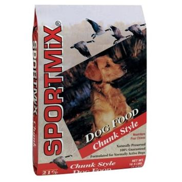 Sportmix Chunk Style Dry Dog Food Size: 16.5-lb bag