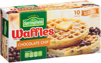 Springfield® Chocolate Chip Waffles