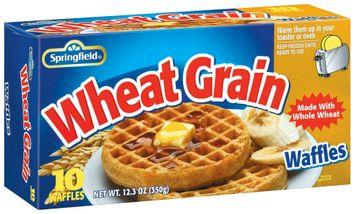 Springfield Wheat Grain 10 Ct Waffles