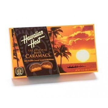 Hawaiian Host Macadamia Nuts Maui Caramacs 12 oz. Box
