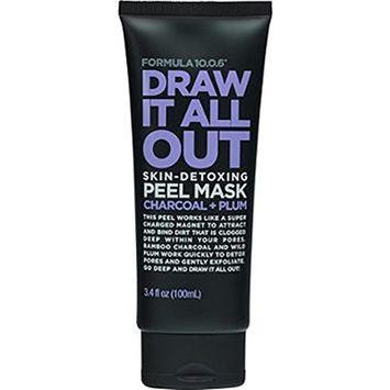 FORMULA 10.O.Six Draw It All Out Skin-Detoxing Charcoal + Plum Peel Mask 3.4 fl oz