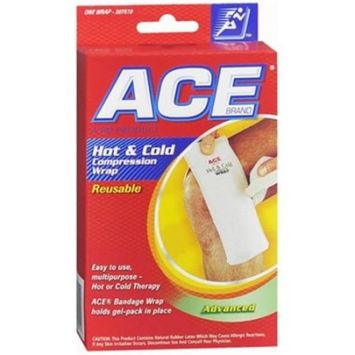 ACE Compress Back Wrap, Cold/Hot [Back Wrap]