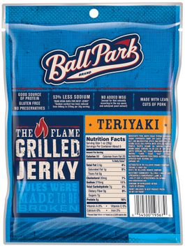 Ball Park® Teriyaki Pork Jerky