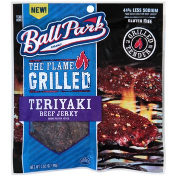 ball park® the flame grilled teriyaki beef jerky