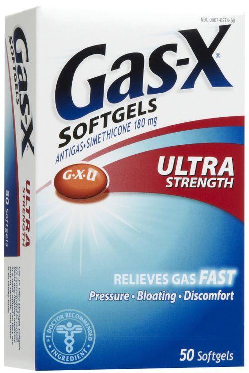 Gas-X Ultra Strength Antigas Softgels, 50ct