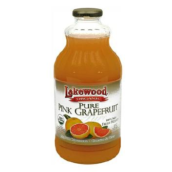 Lakewood Organic 100% Fruit Juice Grapefruit