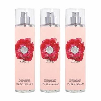 Amore Body Mist For Women, 8 oz (PACK 3)