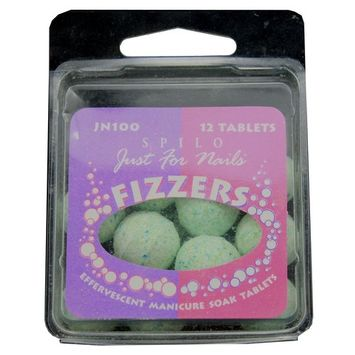 JUST FOR NAILS FIZZERS EFFERVESCENT MANICURE SOAK TABLETS
