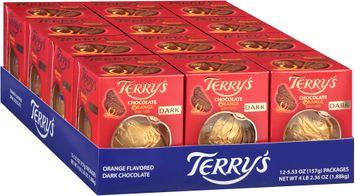 Terry's Dark Chocolate Orange 1 Boxes