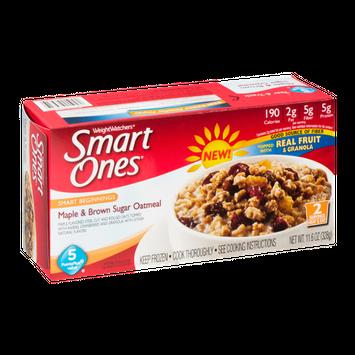 Smart Ones Maple & Brown Sugar Oatmeal
