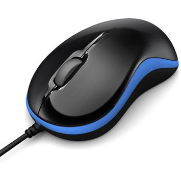 Gigabyte GIGABYTE GM-M5050X-BLU USB Wired Optical Curvy Mouse, Blue/Black