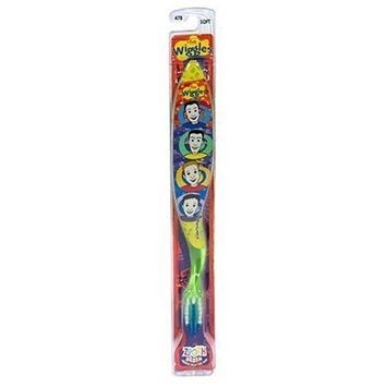 Zoothbrush Manual Toothbrush, The Wiggles, 1 Count colors and styles may vary
