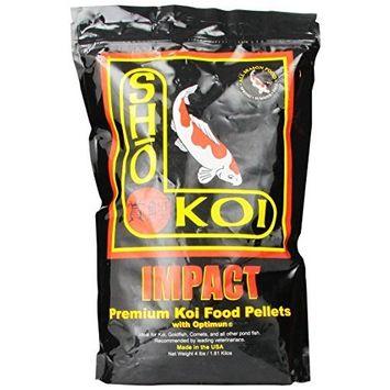 Total Koi Inc ATK00164 Sho Koi ImpaCount Small/Medium Floating Pellet, 4-Pound