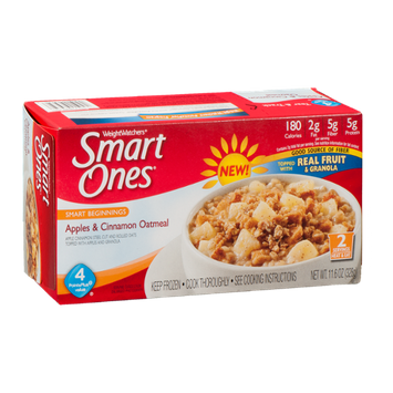Smart Ones Oatmeal Apples & Cinnamon