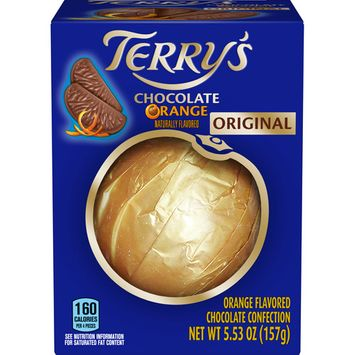 Terry's Milk Chocolate Orange Balls, 5.53 oz