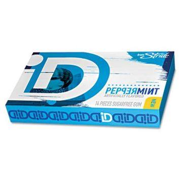 Mr. Coffee Inc. 68510 Id Sugar-free Gum Peppermint 14 Pieces Per Pack 12 Per Box