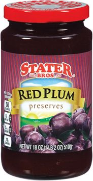 stater bros® red plum preserves