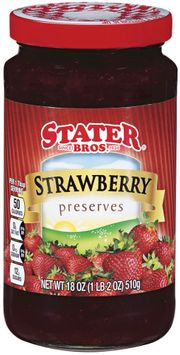 stater bros® strawberry preserves