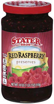 stater bros® red raspberry preserves