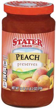 stater bros® peach preserves