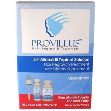 Provillus Hair Loss Kit for Men 1 Provillus Topical With Minoxidil & 1 Provillus for Men 60 Capsule Bottle