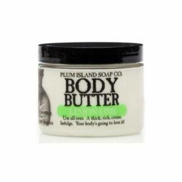 Plum Island Body Butter Lemon Lime