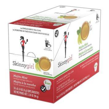 Skinny Girl Mojito Mint Green Tea Single Serve Cups, 24 Ct