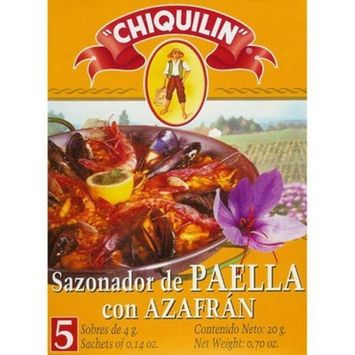 Paella Seasoning Sachets with Saffron