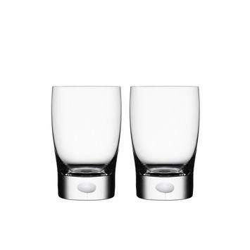 Orrefors Intermezzo Satin Small Tumbler/Juice Pair