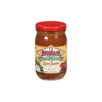 LOUISIANA Fish Fry Products Cajun Butter Injectable Marinade Refill