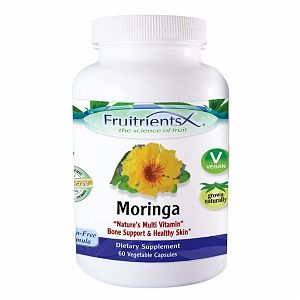 FruitrientsX - Moringa Plant Source Calcium - 60 Vegetarian Capsules