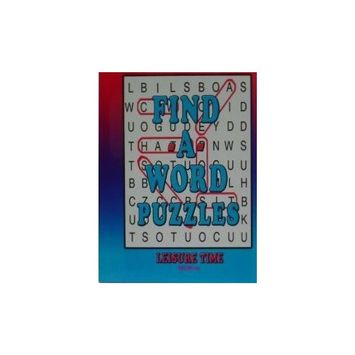 Paradise Press Inc FIND A WORD PUZZLES Vol 24