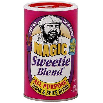 Chef Paul Sugar & Spice Blend Seasoning, 9 oz (Pack of 6)