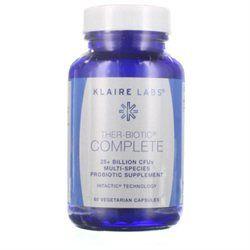 Klaire Labs Ther-Biotic Complete Probiotic Vegetarian Supplement Capsules (60 count)