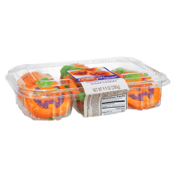Lofthouse Harvest Colorful Pumpkin Sugar Cookies - 18 CT