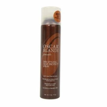 Oscar Blandi Pronto Dry Styling Heat Protect Spray, 4 Oz + Yes to Tomatoes Moisturizing Single Use Mask