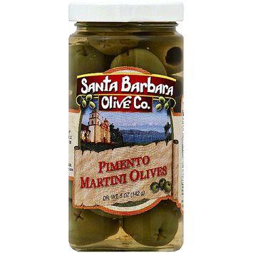 Santa Barbara Olive Co. Martini Pimento Stuffed Olives, 5 oz (Pack of 6)
