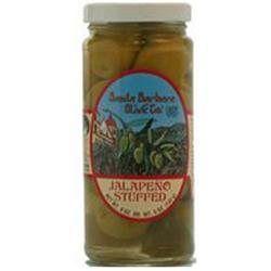SANTA BARBARA OLIVES Jalapeno Stuffed Olives 5 OZ
