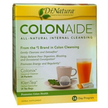 DrNatura Colonaide Internal Cleansing Program (14 packets of Colonix and 14 tea bags of KleriTea)