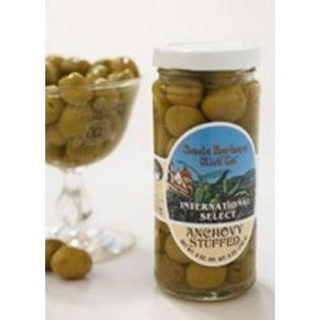 Santa Barbara Olive Co. Anchovy Stuffed Olives (6x5 Oz)
