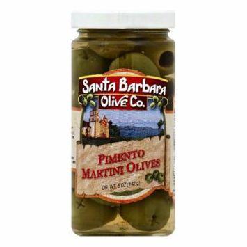 Santa Barbara Pimento Martini Olives, 5 OZ (Pack of 6)