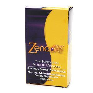 Coastline Products Llc Zencore Plus2 Natural Male Enhancment Capsules, 10 capsules