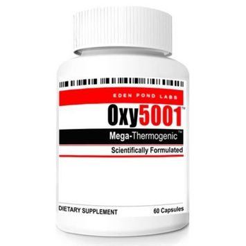 Oxy5001 Mega Thermogenic Weight Loss Supplement 60 Capsules