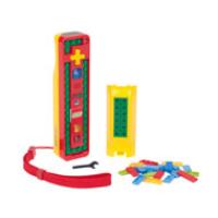 Bensussen-Deutsch Wii Lego Play & Build Remote - Red/Yellow